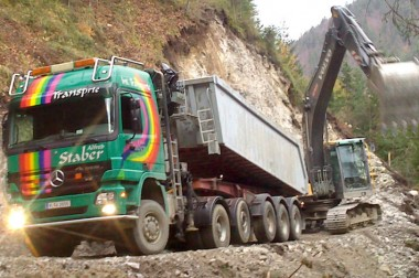 Schüttgut- & Baustellentransporte